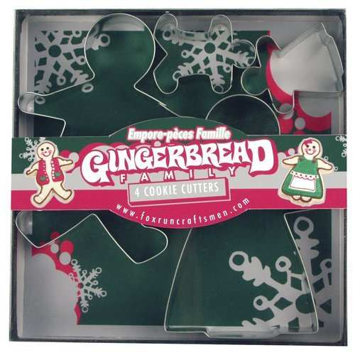 Cookie Cutters | Gingerbread Man & Family Set