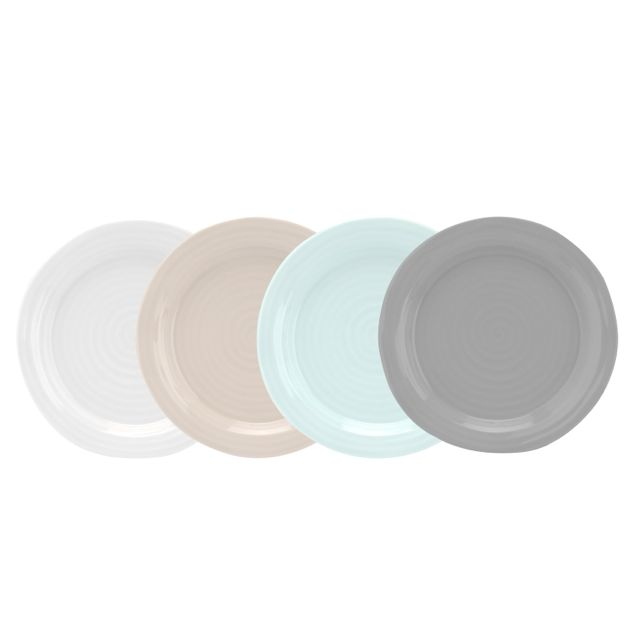 "Sophie Conran Multi 6"" Appetizer Plate - Set of 4"