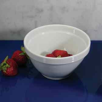 BIA White Ceramic Dessert - Fruit Bowl