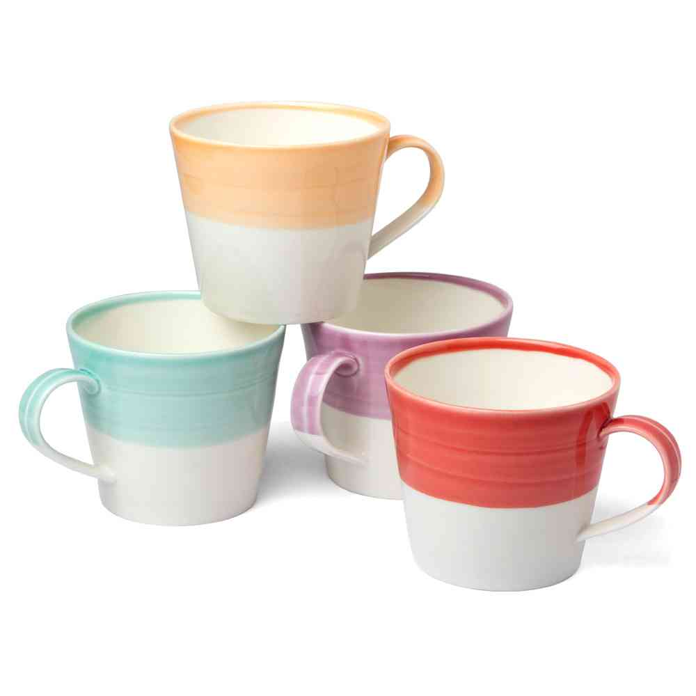Royal Doulton 1815 Dinnerware Bright Mugs | Set of 4