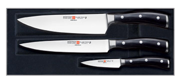 Wusthof Classic Ikon 3 pc Knife Set