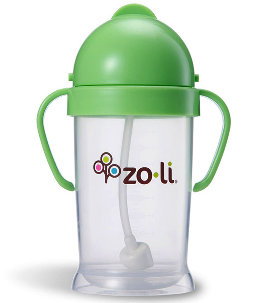 Zoli BOT XL 9oz Straw Sippy Cup - Green