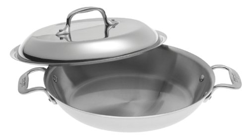 "All-Clad Stainless Steel 2qt 10"" All Purpose Pan with Domed Lid"