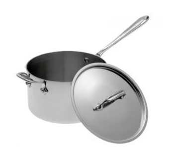 All-Clad Stainless Steel 3qt Sauce Pan with Loop