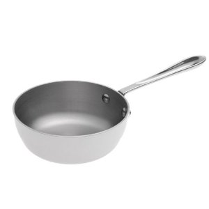 All-Clad Stainless Steel 1qt Saucier Pan