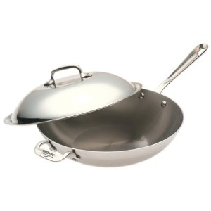 "All-Clad Stainless Steel 12"" Chef's Pan"