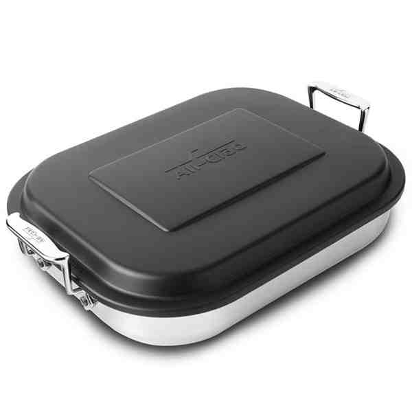 All-Clad Stainless All-Purpose Lasagna Pan with Lid