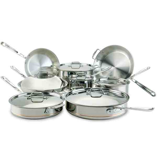 All-Clad Copper-Core 14pc Cookware Set