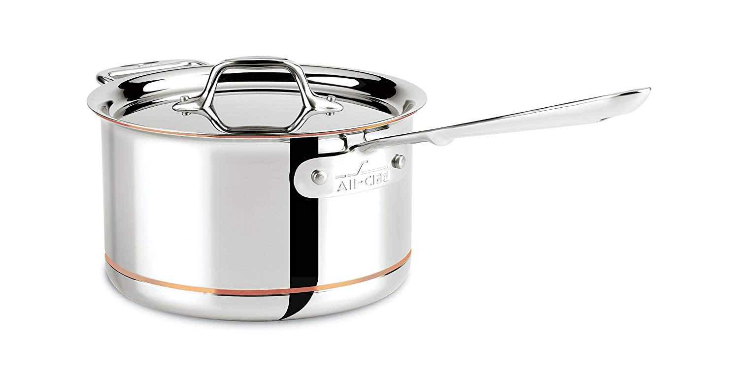 All-Clad Copper Core 4qt Sauce Pan