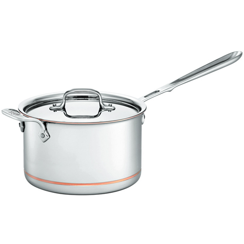 All-Clad Copper-Core 4qt Sauce Pan
