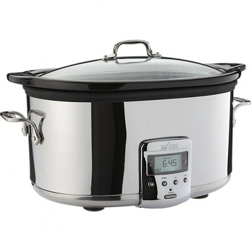 All-Clad 6.5qt Electric Slow Cooker with Ceramic Insert