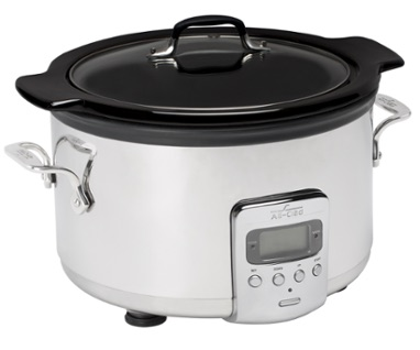 All-Clad 4qt Electric Slow Cooker with Ceramic Insert