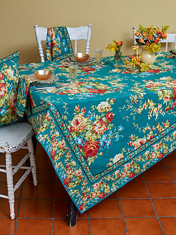 "April Cornell 36x36"" Tablecloth 