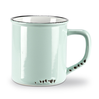 Enamel Look Mug | Light Blue 14oz
