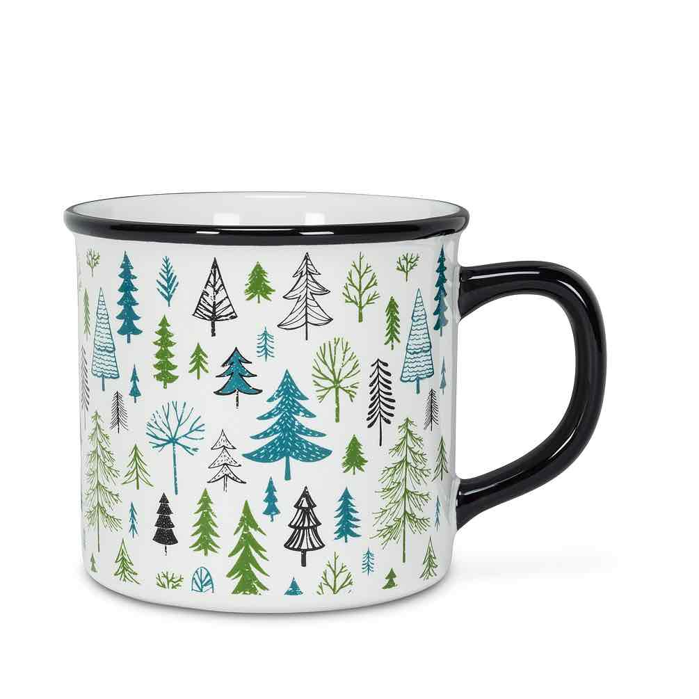 Allover Trees Mug | 14oz