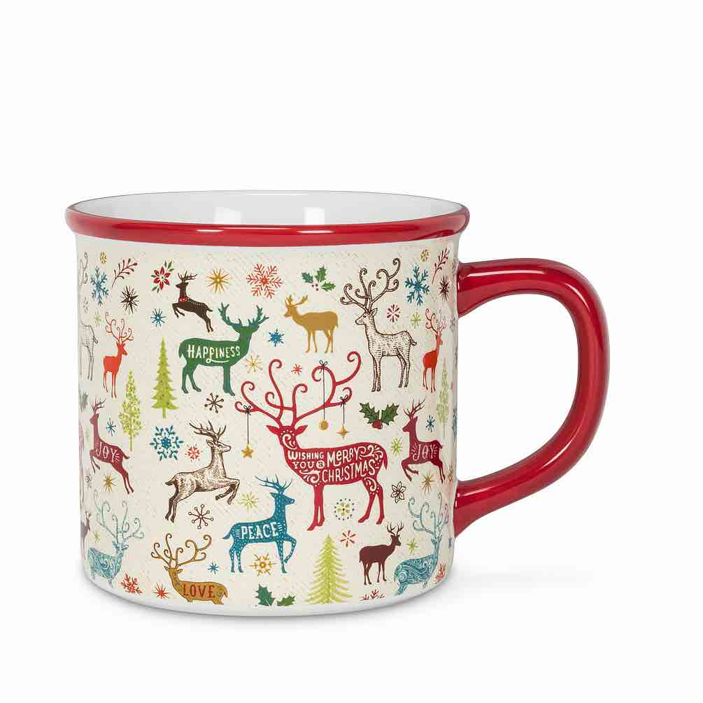 Christmas Deer Mug | 14oz
