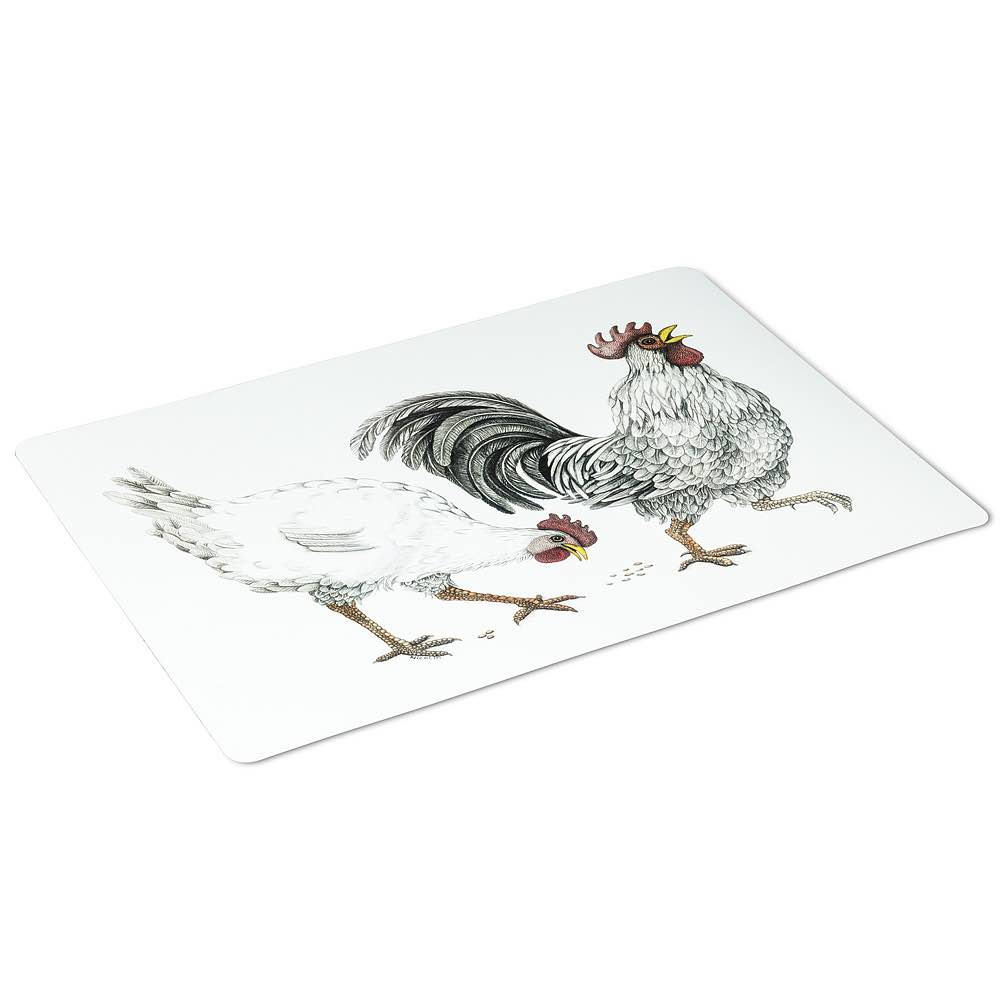Placemat | Rooster & Hen