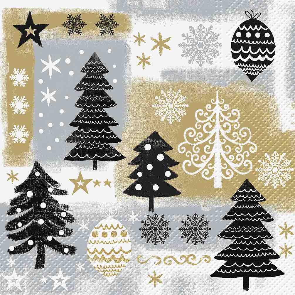 Christmas Napkins | Luncheon 20pk | Christmas Design