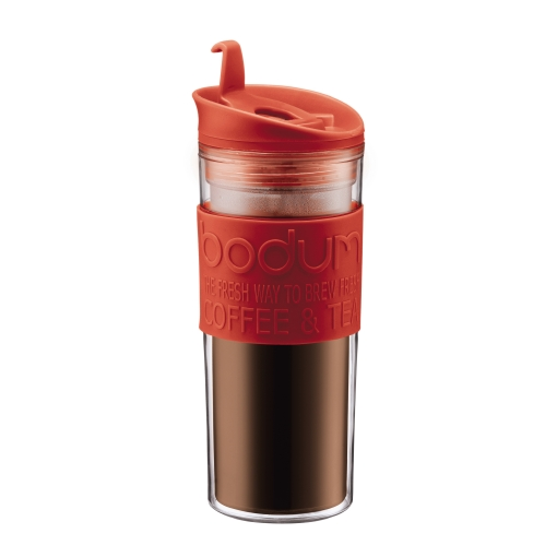 Bodum Travel Mug 15oz Red