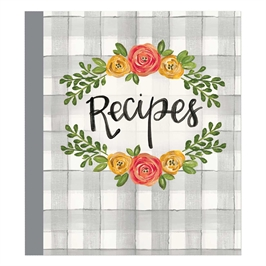 Recipe Card Binder Album | Floral