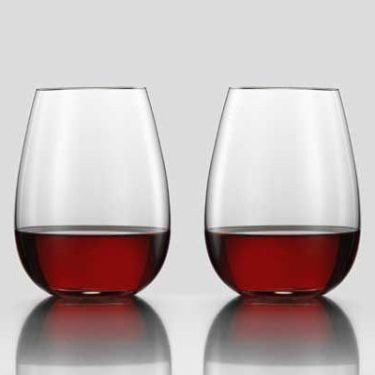 Eisch Sensis Plus Aerating Stemless Wine Glasses 20oz - Set of 2