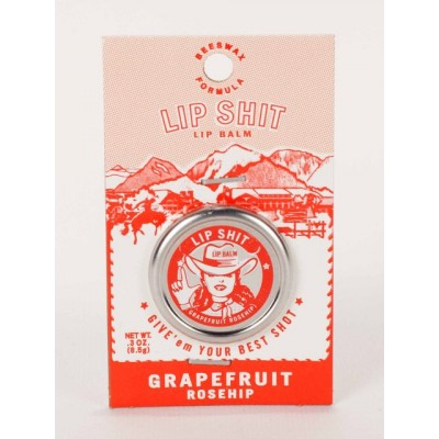 Blue Q Lip Shit | Grapefruit Rosehip
