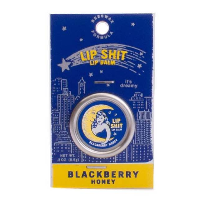 Blue Q Lip Shit | Blackberry Honey