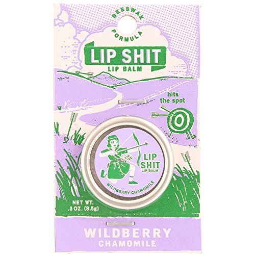 Blue Q Lip Shit | Wildberry Chamomile