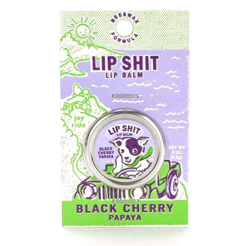 Blue Q Lip Shit | Black Cherry Papaya
