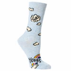 Blue Q Women's Crew Socks | Up Yours