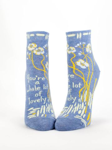 Blue Q Women's Ankle Socks | Whole Lotta Lovely