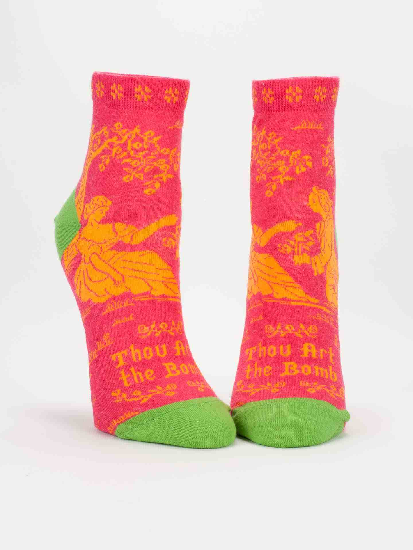 Blue Q Women's Ankle Socks | Thou Art The Bomb