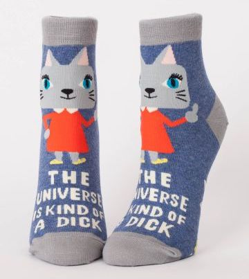 Blue Q Women's Ankle Socks | Universe is Kind