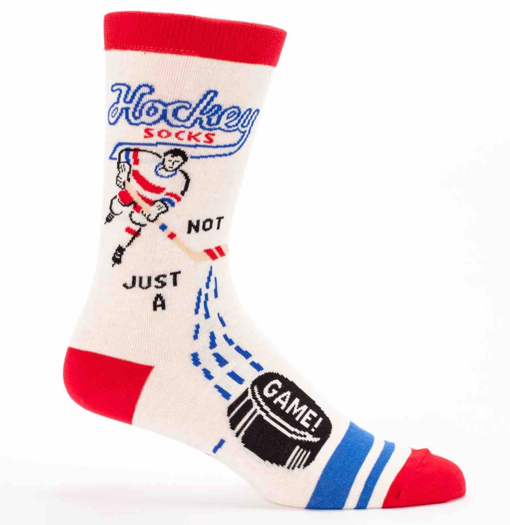 Blue Q Men's Socks | Hockey