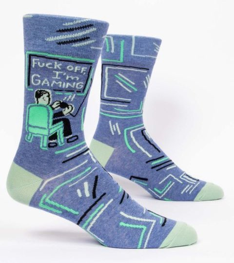 Blue Q Men's Socks | I'm Gaming