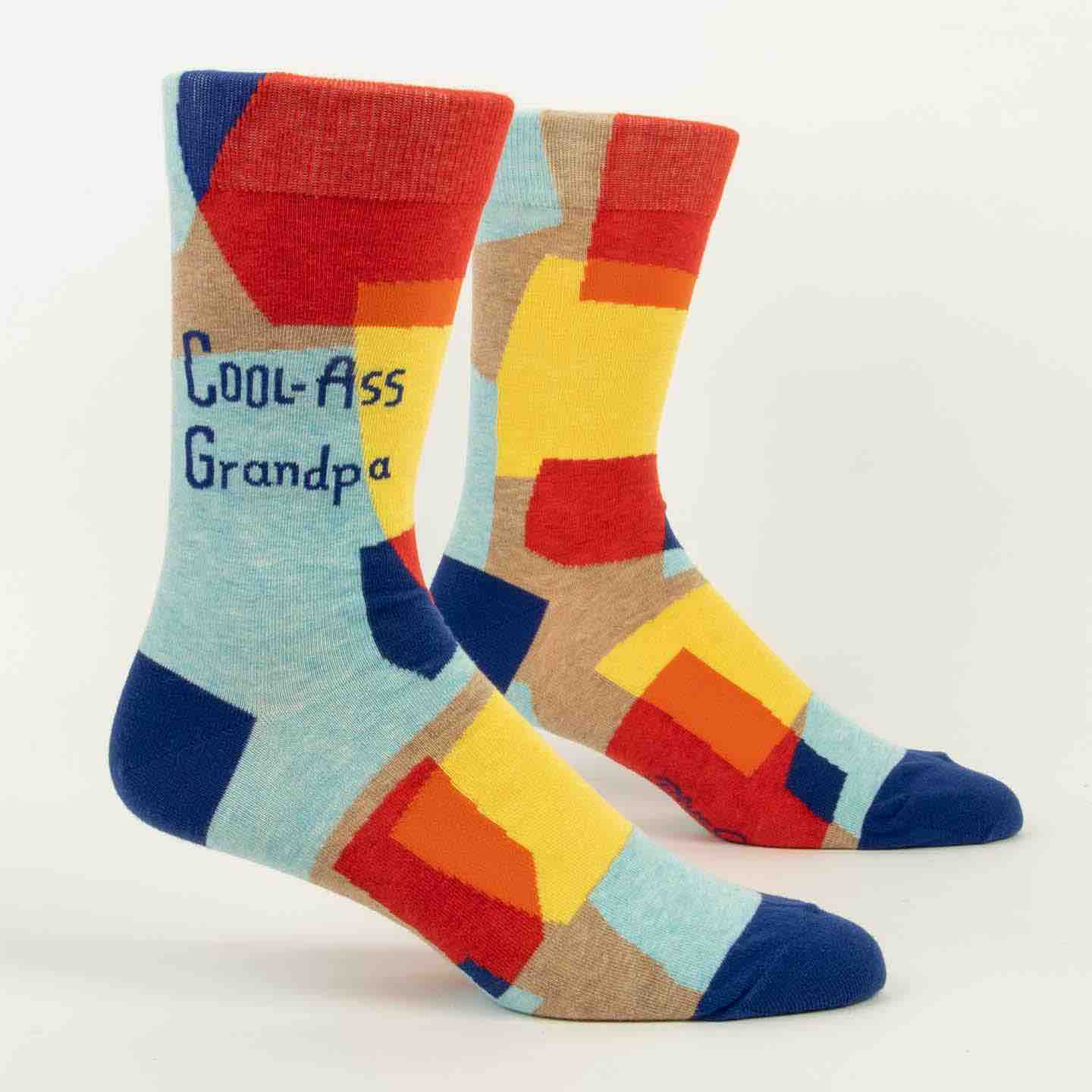 Blue Q Men's Socks | Cool Ass Grandpa