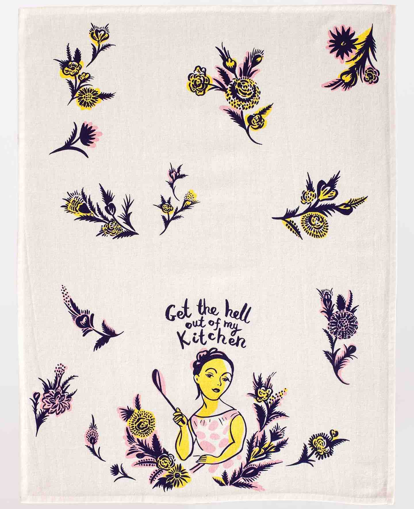Blue Q Dish Towel | Get the H out of my Kitchen