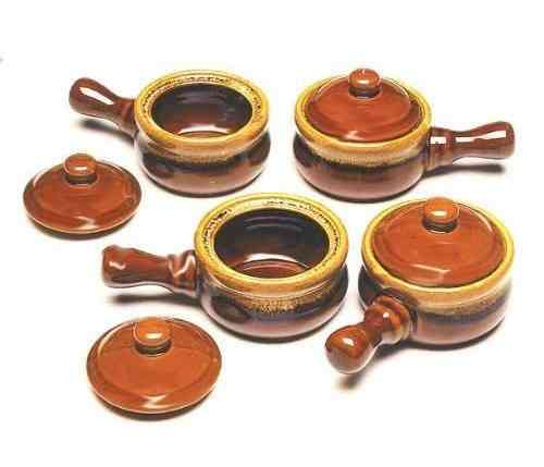 8pc French Onion Soup Bowl Set