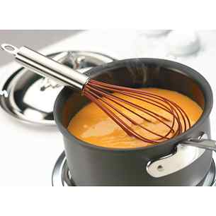"Cuisipro 12"" Red Silicone Balloon Whisk"