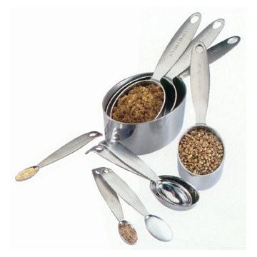 Cuisipro Measuring Box Set cups & spoons | Stainless Steel