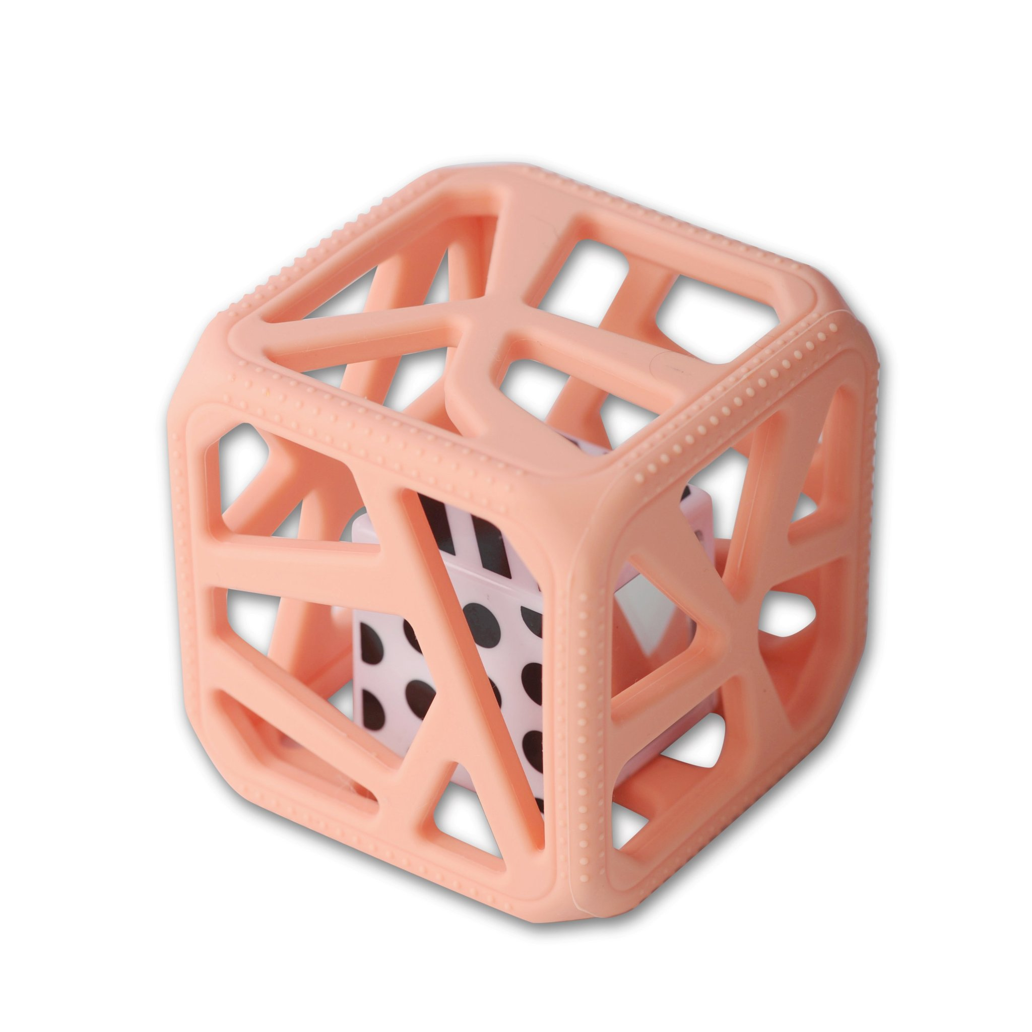 Chew Cube | Peachy Pink
