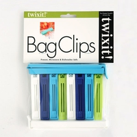 Twixit Bag Clips | Pack of 10 Blues