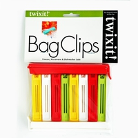 Twixit Bag Clips | Pack of 10 Jazz