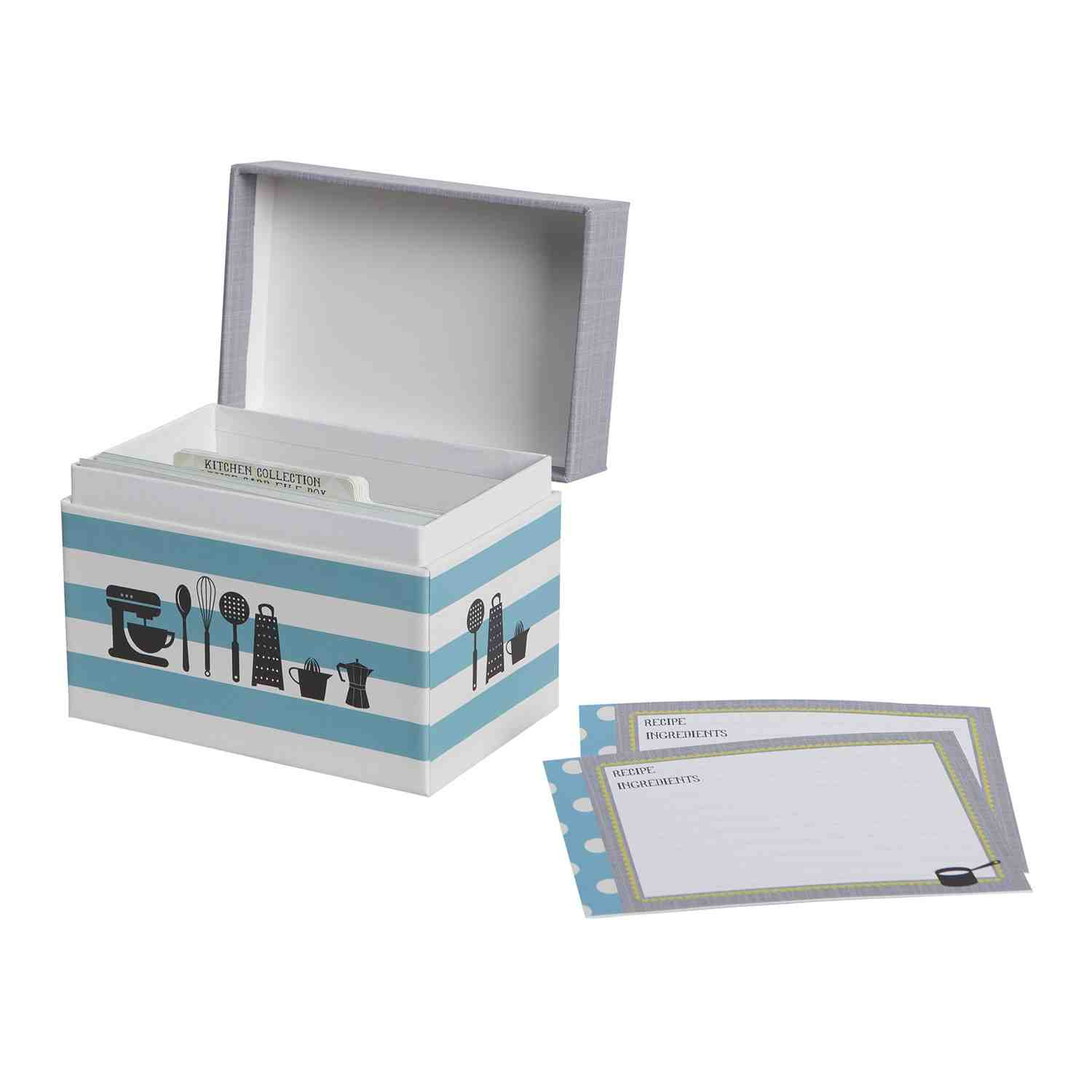 Recipe File Box - Kitchen Gear