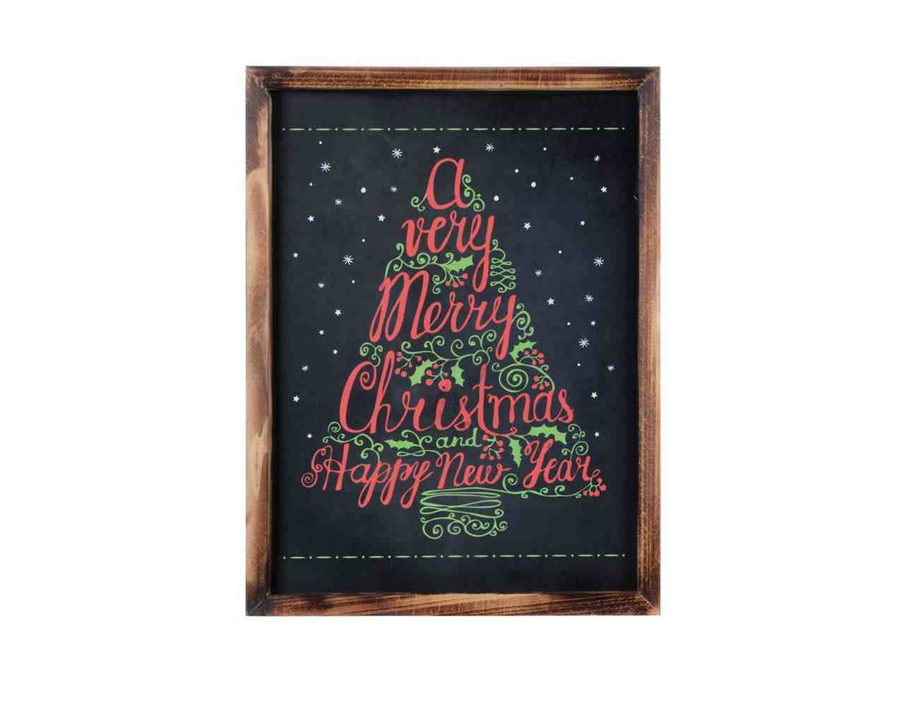 Chalkboard Sign - Christmas Tree