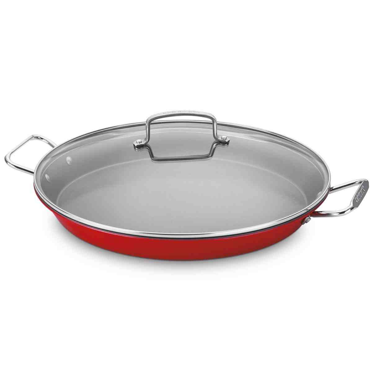 "Cuisinart 15"" Paella Pan with Lid"