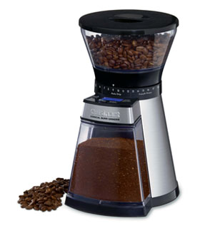 Cuisinart Programmable Conical Burr Mill Coffee Grinder