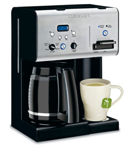 Cuisinart Coffee PLUS 12-Cup Coffeemaker and Hot Water Dispenser