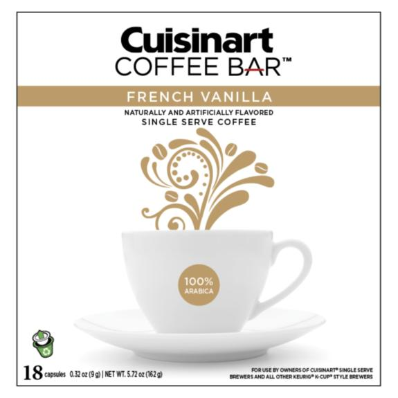 Cuisinart Coffee Bar - French Vanilla - 18 recyclable capsules