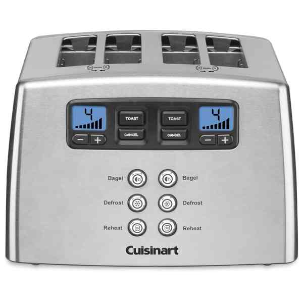 Cuisinart 4 Slice Motorized Leverless Toaster